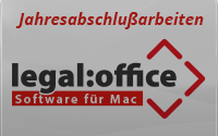 Jahresabschlußarbeiten legal:office